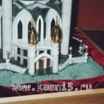 Макет мечети Казанского Кремля «Кул-Шариф»