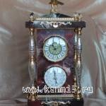 Часы с барометром.