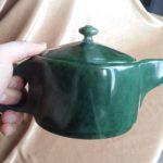 Нефритовый чайник объем 0.5л