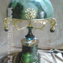 Настольная лампа из нефрита