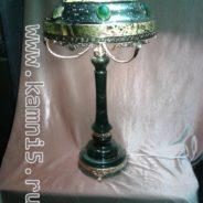 Лампа из Нефрита настольная