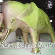 Крупная скульптура. Слон