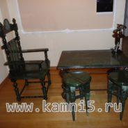 Набор мебели из нефрита